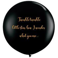 gender reveal balloons twinkle twinkle gender reveal balloons balloonatics