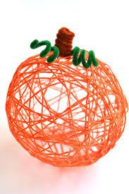 Halloween Decorations Pumpkins How To Make Yarn Pumpkins Using Balloons
