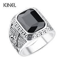 silver ring for men islam popular rock ring buy cheap rock ring lots from china