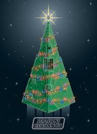 geek christmas cards christmas lights decoration
