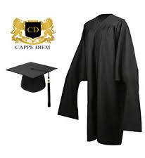cheap cap and gown black graduation cap gown ebay