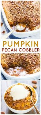 pumpkin cheesecake cobbler recipe cheesecakes cobbler and