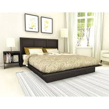 Bed Frame Simple Furniture Classic And Vintage Black Wood Bed Frame Nu Decoration