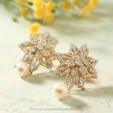 ear studs images manubhai jewellers diamond ear studs ear studs diamond and models