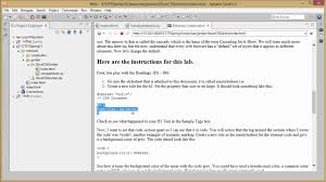 tools and tips for working with css in aptana studio 3 youtube