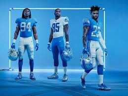 rod wood all four new detroit lions uniforms should be worn in 2017