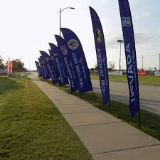 Custom Feather Flags Feather Banners Wing Shaped Advertising Banners Atlanta Ga