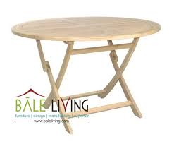 round folding table indonesia teak garden and indoor furniture