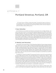 Portland Streetcar Map by Appendix F Portland Streetcar Portland Or Guide To Value