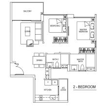2 bedroom floor plan 2 bedroom floor plan the visionaire executive condominium