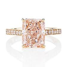 colored engagement rings pink engagement rings get the look engagement rings brides