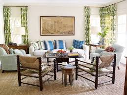All American Home American Style Decorating - American living room design