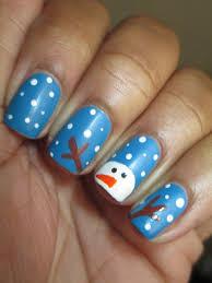 36 sparkling nail designs for christmas party christmas nail art