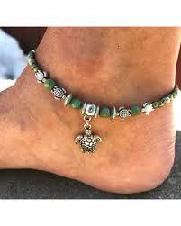 beaded ankle bracelet images New savings on ankle bracelet turtle anklet beach anklet womans