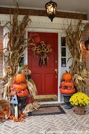fall outdoor decorations fall outdoor decorating ideas corn stalks front door decor and