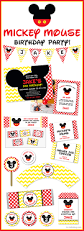 Mickey Mouse Invitation Cards Printable New In The Shop Mickey Mouse Party Chickabug