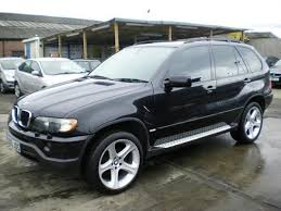 bmw x5 used cars for sale uk used bmw x5 car 2003 black petrol 3 0i sport 5 door auto 4x4 for