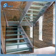 Glass Staircase Design Stals Modern Steel Glass Stair Railing Spiral Staircase Design