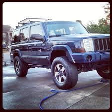 jeep commander lifted budget lift and tire size jeep commander forums jeep commander