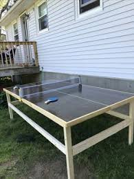 used ping pong table for sale near me diy folding 4x8 ping pong table would attach to dining table