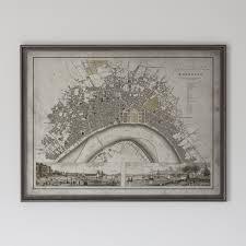 Bordeaux France Map Bordeaux Map Vintage Map Of Bordeaux France Circa 19th C