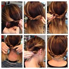pretty updos for medium hair details haircolors trends