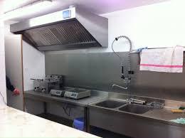 installateur cuisine professionnelle idée credence inox cuisine professionnelle crédences cuisine
