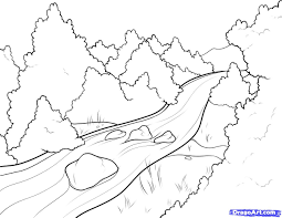 river coloring pages printable coloring page picture