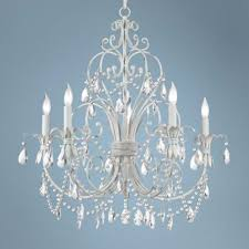 Antique Crystal Chandelier White And Crystal Chandelier U2014 Savannah Vintage And Antique