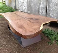 live edge wood slab tables black u0027s farmwood
