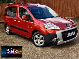 used peugeot partner tepee mpv 1 6 hdi 8v tepee outdoor 5dr in