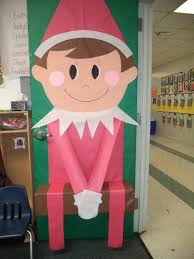 images about door decorating ideas on christmas and elf on the