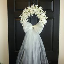 wedding wreath bridal shower decorations wedding wreaths front door wreaths