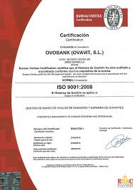ce bureau veritas quality certificate and ethics ovobank