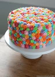 How To Decorate Birthday Cake 17 Terbaik Gambar Tentang Cake Decorating Di Pinterest Kue Krim