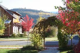 mountainside village streets u0026 houses mountainside village idaho