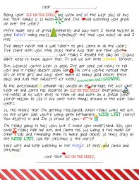 Sad Love Letters To Him An Elf On The Shelf Break Up Letter