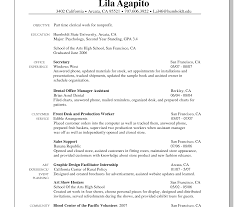first resume exle for a high student astounding jobe exles for highschool students professional