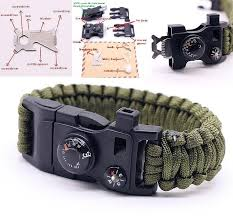 bracelet survival images 15 in 1 multifunctional outdoor survival bracelet ancient explorers jpg