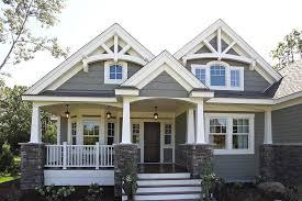 home design bungalow front porch designs white front craftsman style house plan 3 beds 2 00 baths 2320 sq ft plan 132
