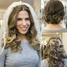 how to put bridal hairstyle how to change your hair for your wedding popsugar beauty