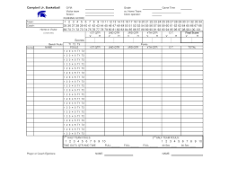 Basketball Stat Sheet Template Excel Basketball Player Stats Sport On Ratesport