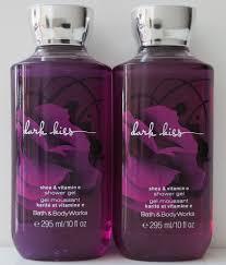 bath and body works trio weekend lulu s makeup dark kiss shower gel a seductive blend of black raspberry burgundy rose dark vanilla bean