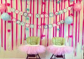 birthday decorations to make at home birthday decoration at home for girl girls 1st birthday party themes