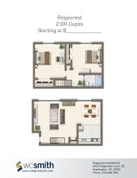 ridgecrest apartments duplex floor plans apartments and bedrooms