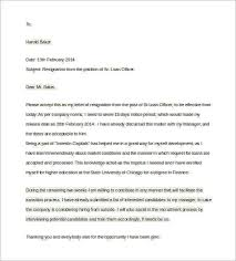 sample letter to loan officer two weeks notice letter 12 download free documents in word
