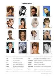 esl hairstyles 12 free esl hair style worksheets