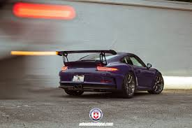 porsche gt3 rs yellow ultraviolet purple porsche 911 gt3 rs with hre r101lw wheels by