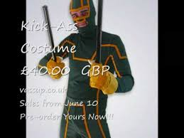 Kickass Halloween Costume Kick Costume 40 00 Gbp