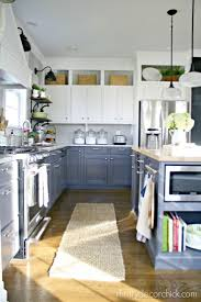 Pinterest Painted Kitchen Cabinets 100 Painting Kitchen Cabinets Two Different Colors Best 25